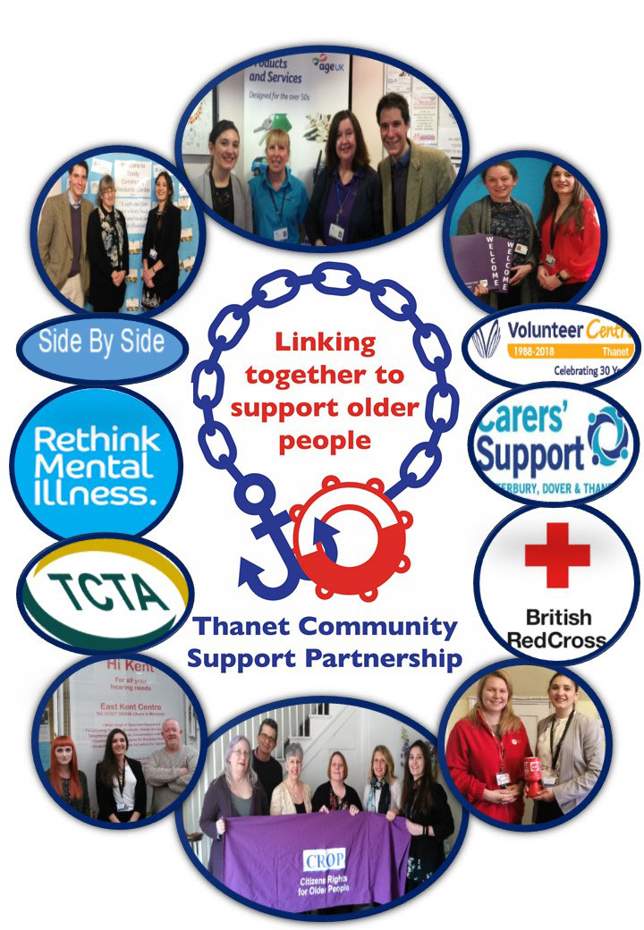 Thanet Community Support Partnership (TCSP) - Our partners